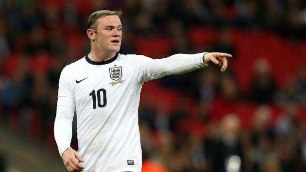 Anglický reprezentační útočník Wayne Rooney