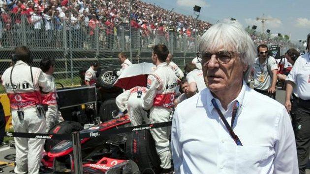 Promotér formule 1 Ernie Eccelstone