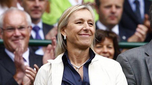 Bývalá tenistka Martina Navrátilová