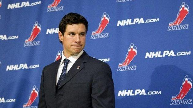 Hokejista Pittsburghu Sidney Crosby