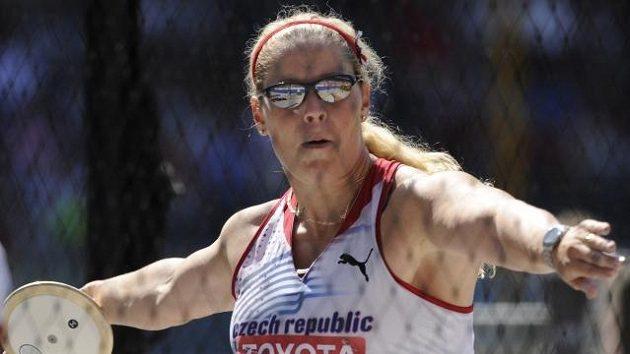Diskařka Věra Pospíšilová-Cechlová se může těšit na olympijský bronz.