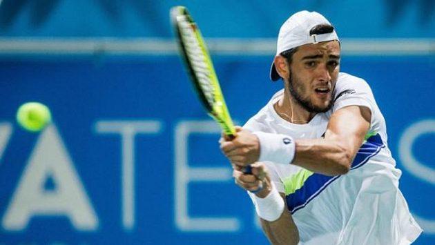 Největší hvězdou na Floridě bude osmý hráč světového žebříčku Matteo Berrettini z Itálie.