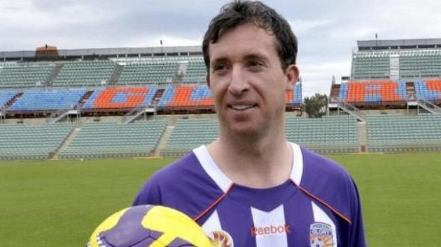 Robbie Fowler, někdejší anglický reprezentant, nyní hráč australského Perth Glory.