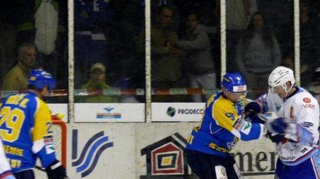 Zápas Ústí nad Labem - Chomutov. Ilustrační foto