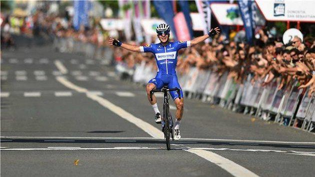 Belgický cyklista Remco Evenepoel.