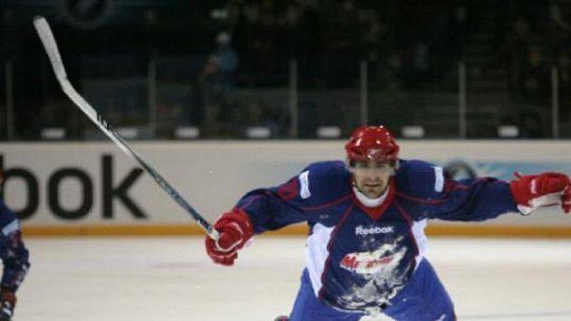 Tomáš Rolinek v dresu Magnitogorsku