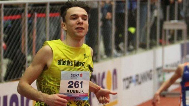 Sprinter Eduard Kubelík získal na juniorském mistrovství Evropy stříbro v běhu na 200 metrů