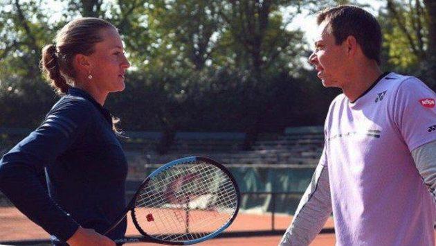Sascha Bajin nepovede Kristinu Mladenovicovou, protože se chce rozvíjet.
