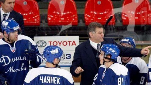Vladimír Vůjtek na lavičce Dynama Moskva
