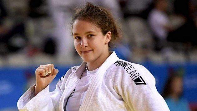 Česká judistka Renata Zachová.