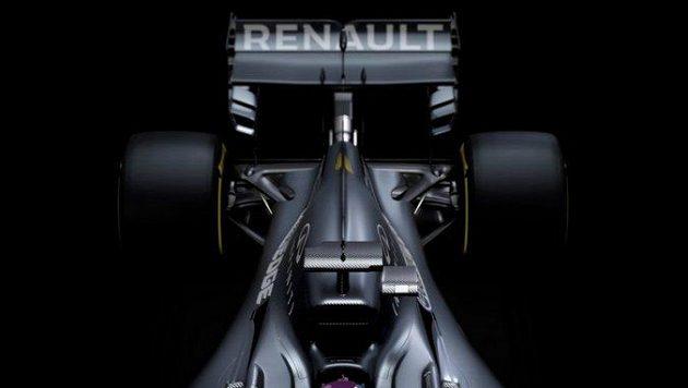 Renault ukázal nový monopost jen částečně na fotografiích.
