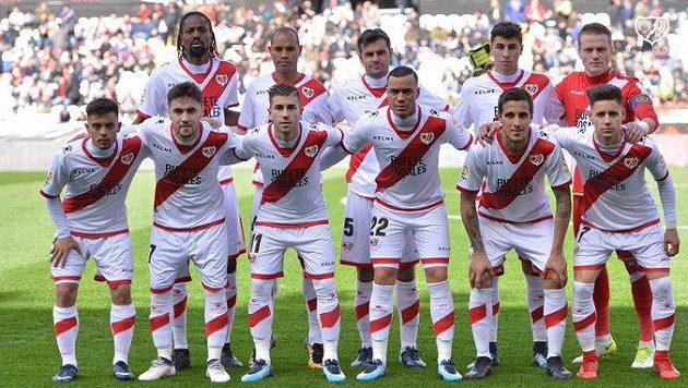 Fotbalisté španělského klubu Rayo Vallecano.