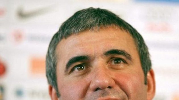 Odvolaný trenér Galatasaraye Istanbul George Hagi