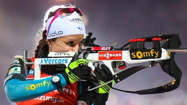 Francouzská biatlonistka Anais Chevalierová se vrací k tréninkům.