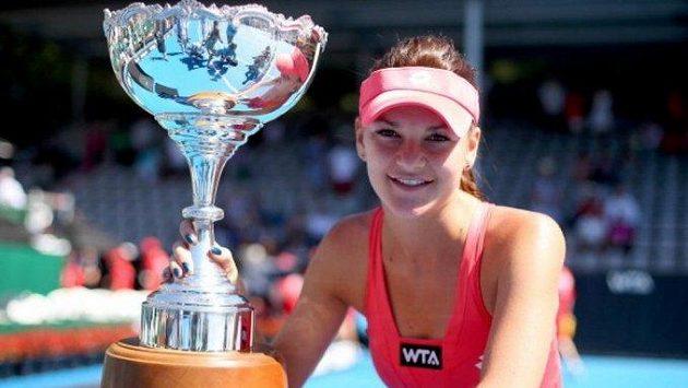 Bývalá tenistka Agnieszka Radwaňská se stala matkou