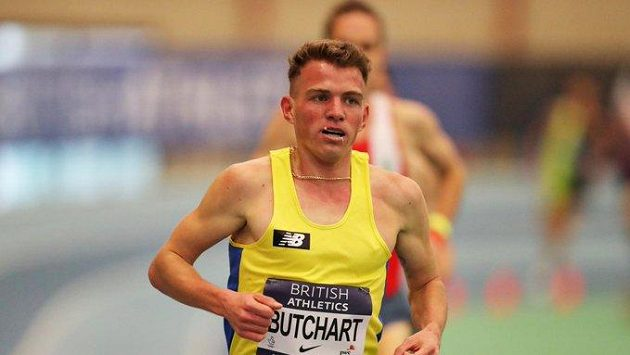 Britský atlet Andrew Butchart.