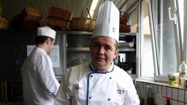 Kuchař české výpravy Josef Golis