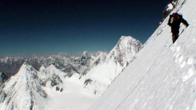 V jihozápadní stěně Gasherbrumu.