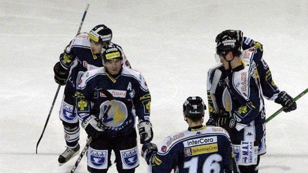 Radost vpodání hokejistů Plzně