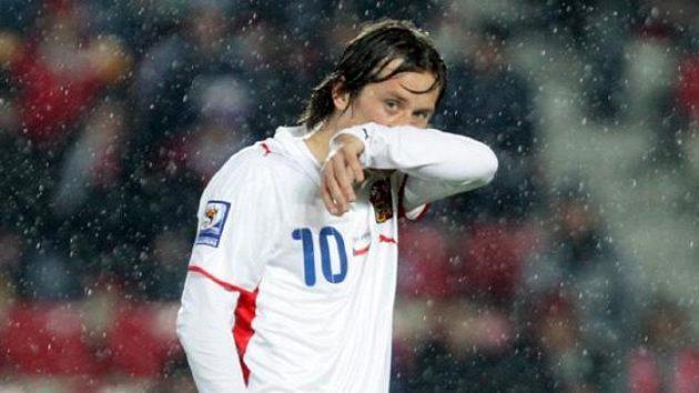 Tomáš Rosický po zápase proti Polsku