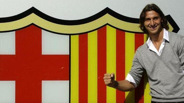 Hvězdná posila Barcelony Zlatan Ibrahimovič