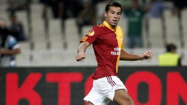 Fotbalista Galatasaraye Istanbul Milan Baroš