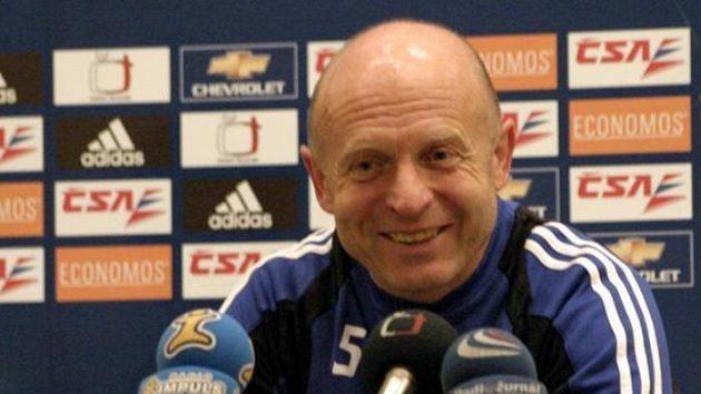 Trenér fotbalistů Slavie Praha Karel Jarolím
