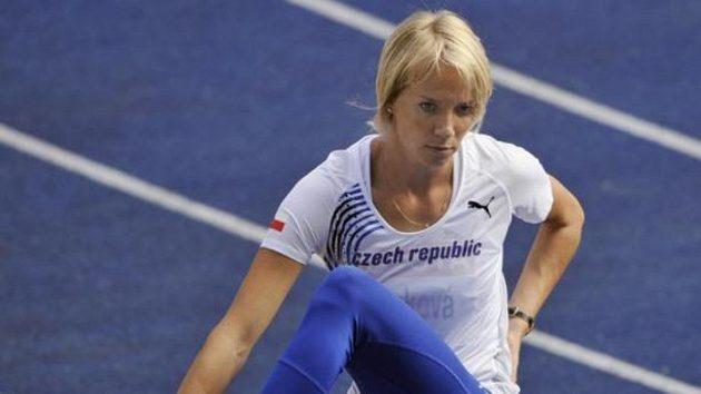 Výškařka Iva Straková se představí v Hustopečích.