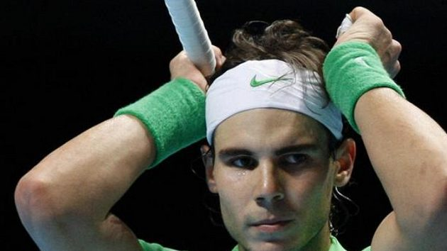 Zklamaný Rafael Nadal