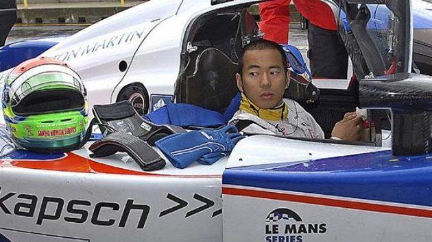 Pilot formule 1 Sakon Jamamoto testoval na brněnském okruhu prototyp LMP1 týmu Charouz Racing System.