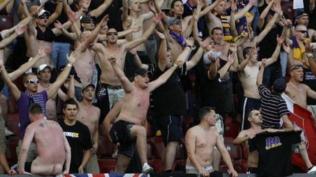 Fanoušci fotbalistů Mariboru
