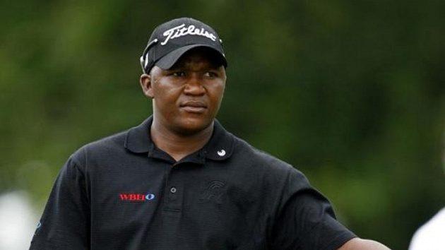 Jihoafrický golfista James Kamte, přezdívaný Kobra