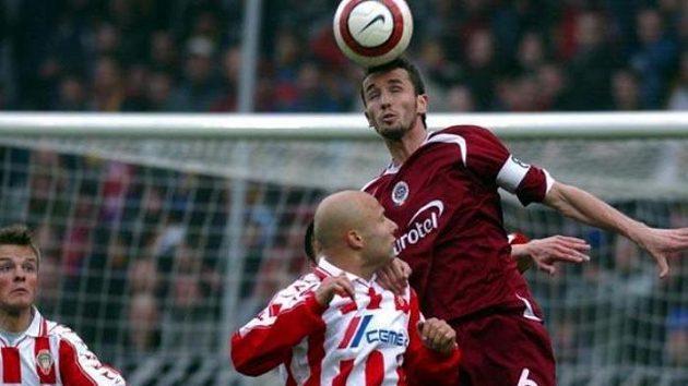 Sparta si vystřílela cestu do semifinále poháru vduelu se Žižkovem.