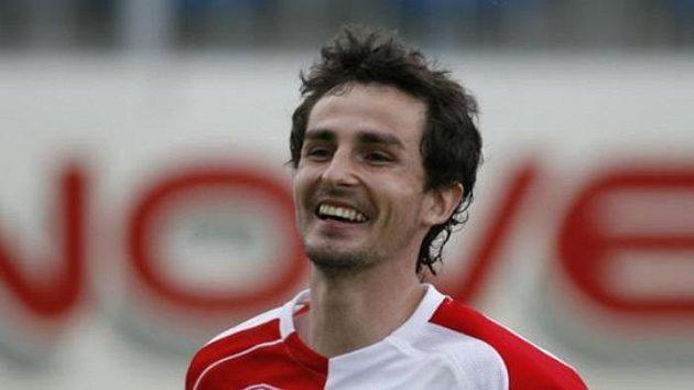 Fotbalista pražské Slavie David Kalivoda