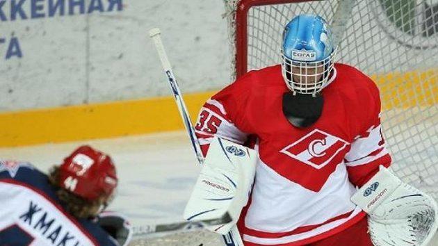 Martin Prusek v dresu Spartaku Moskva