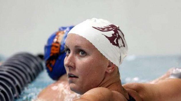 Americká plavkyně Jessika Hardyová