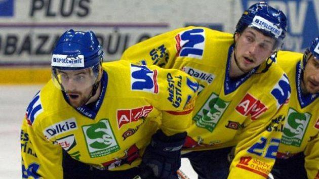 Hokejisté Ústí nedokázali zopakovat úterní vítězství ve finále první ligy.