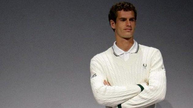 Andy Murray představuje svoje oblečení pro Wimbledon