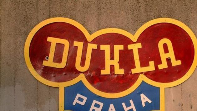Logo Dukly Praha - ilustrační fotografie.