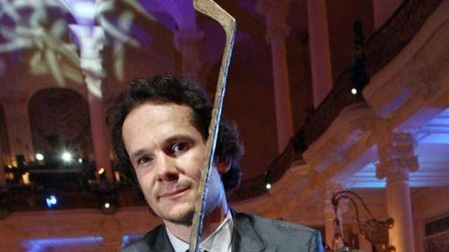 Patrik Eliáš se Zlatou hokejkou