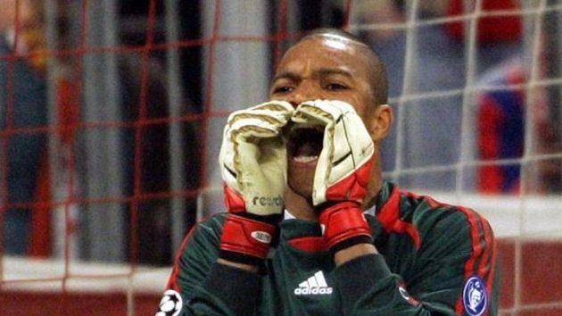 Brankář italského AC Milán Dida.