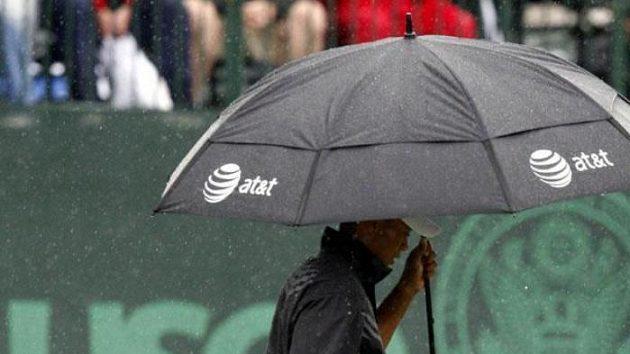 Golfista Tiger Woods během prvního kola US Open