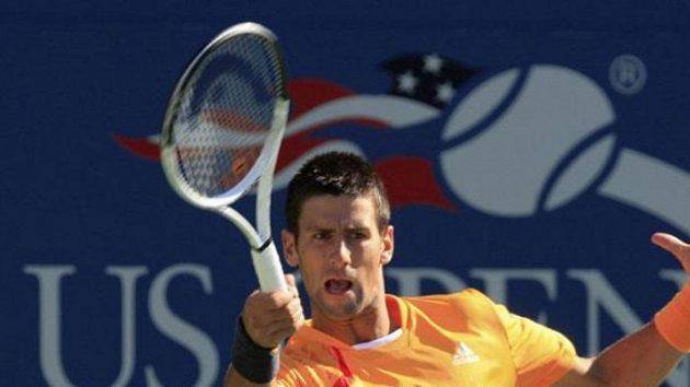 Srbský tenista Novak Djokovič na US Open