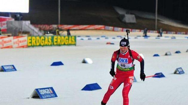 Biatlonistka Veronika Vítková