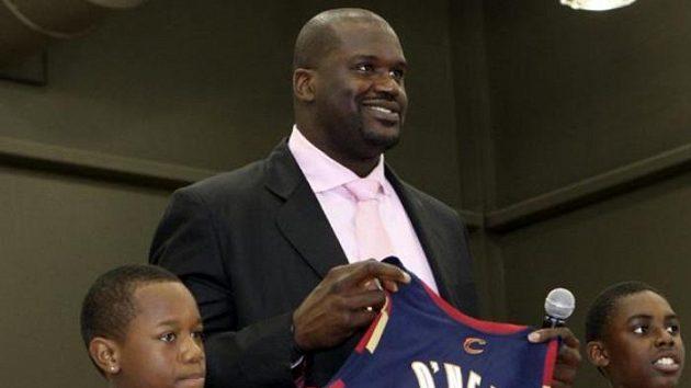 Obrovitý basketbalista Shaquille O'Neal