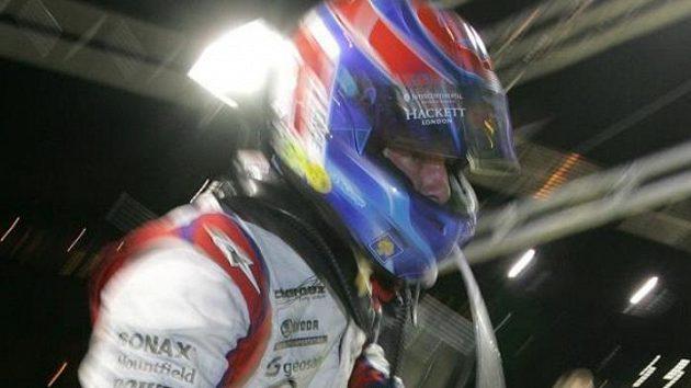 Tomáš Enge při loňské kvalifikaci 24 hodin Le Mans