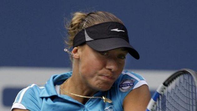 Belgická tenistka Yanina Wickmayerová na US Open