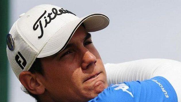 Mladý italský golfista Matteo Manassero