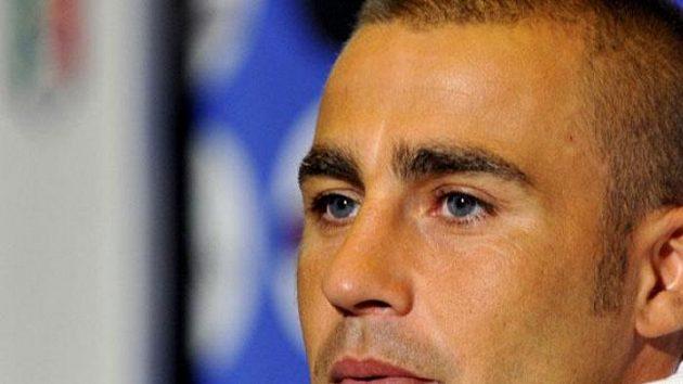 Italský fotbalista Fabio Cannavaro