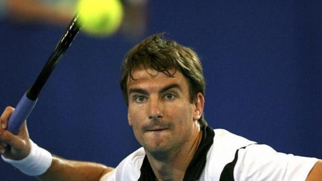 Španělský tenista Tommy Robredo na Hopman Cupu